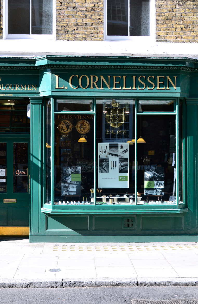 The most beautiful shopfront - Cornelissen & Son